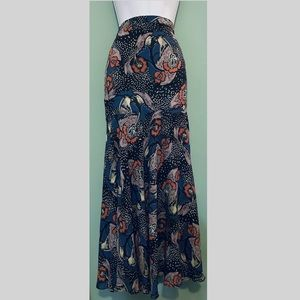 Free People Floral Skirt